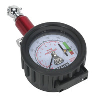 Sealey TSTPDG01 Tyre Pressure Gauge with Tyre Tread Depth Gauge