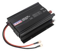 Sealey PI1000 Power Inverter 1000W 12V DC - 230V 50Hz