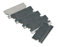 Sealey AK52507/1 Angled Razor Blade for AK52507, AK52504, VS500 Pack of 5