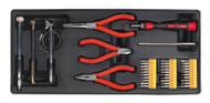 Sealey TBT17 Tool Tray with Precision & Pick-Up Tool Set 38pc