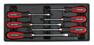 Sealey TBT29 Tool Tray with Hammer-Thru Screwdriver Set 6pc
