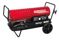 Sealey AB2158 Space Warmerå¬ Paraffin/Kerosene/Diesel Heater 215,000Btu/hr with Wheels