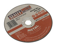 Sealey PTC/3CT Cutting Disc åø75 x 1.2mm 10mm Bore