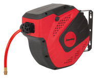 Sealey SA821 Auto Rewind Control Air Hose Reel 10mtr åø8mm ID - PU Hose