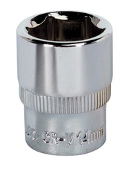 "Sealey SP1414 WallDriveå¬ Socket 14mm 1/4""Sq Drive Fully Polished"