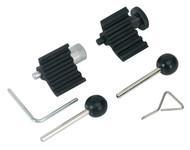Sealey VSE2358 Diesel Engine Setting/Locking Kit - 1.2D, 1.6D, 2.0D TDi Common Rail - Belt Drive