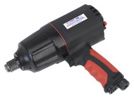 "Sealey GSA6004 Composite Air Impact Wrench 3/4""Sq Drive Twin Hammer"