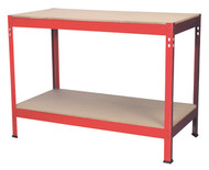 Sealey AP1210 Workbench 1.2mtr Steel Wooden Top