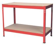 Sealey AP1210 Workbench 1.2mtr Steel Wooden Top