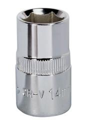 "Sealey SP1214 WallDriveå¬ Socket 14mm 1/2""Sq Drive Fully Polished"