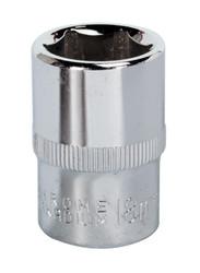 "Sealey SP1218 WallDriveå¬ Socket 18mm 1/2""Sq Drive Fully Polished"