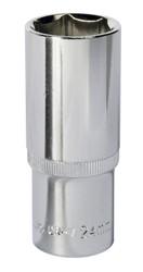 "Sealey SP1224D WallDriveå¬ Socket 24mm Deep 1/2""Sq Drive Fully Polished"