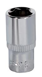 "Sealey SP1409 WallDriveå¬ Socket 9mm 1/4""Sq Drive Fully Polished"