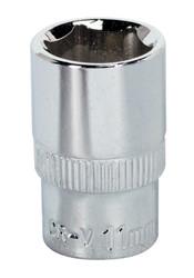 "Sealey SP1411 WallDriveå¬ Socket 11mm 1/4""Sq Drive Fully Polished"