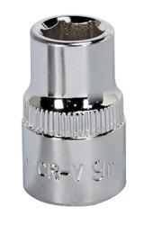 "Sealey SP3809 WallDriveå¬ Socket 9mm 3/8""Sq Drive Fully Polished"