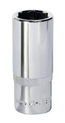 "Sealey SP3818D WallDriveå¬ Socket 18mm Deep 3/8""Sq Drive Fully Polished"