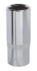 "Sealey SP3819D WallDriveå¬ Socket 19mm Deep 3/8""Sq Drive Fully Polished"