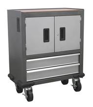 Sealey AP22DFC Mobile Cabinet 2 Drawer & 2 Door Cupboard