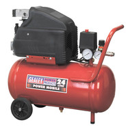 Sealey SA2415 Compressor 24ltr Direct Drive 1.5hp