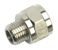 "Sealey SA1/1438F Adaptor 1/4""BSP Male to 3/8""BSP Female"