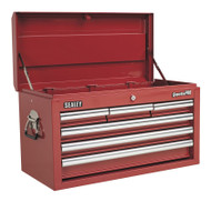 Sealey AP33069 Topchest 6 Drawer with Ball Bearing Runners - Red