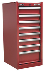 Sealey AP33589 Hang-On Chest 8 Drawer with Ball Bearing Runners - Red