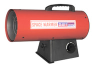 Sealey LP50 Space Warmerå¬ Propane Heater 33,000-55,000Btu/hr