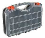 Sealey APAS42 Parts Storage Case 42 Compartment Double-Sided