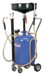 Sealey AK456DX Mobile Oil Drainer with Probes 35ltr Air Discharge