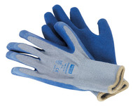 Sealey SSP48XL Latex Knitted Wrist Gloves - X-Large