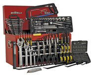 Sealey AP3606BCOMBO Topchest 6 Drawer with Ball Bearing Runners - Red/Black & 230pc Tool Kit