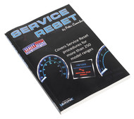 Sealey SRM Service Reset Manual