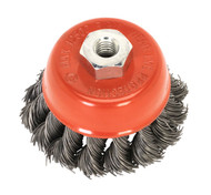 Sealey TKCB651 Twist Knot Wire Cup Brush åø65mm M14 x 2mm