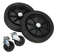 Sealey COMPKIT5 Wheel Kit for Fixed Compressors - 2 Castors & 2 Fixed