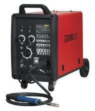 Sealey SUPERMIG230 Professional MIG Welder 230Amp 230V with Binzelå¬ Euro Torch