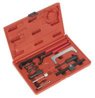 Sealey VSE5851 Diesel/Petrol Engine Setting/Locking Kit - VAG, Ford - 1.6, 1.8, 1.8T, 2.0 & 1.8, 1.8T Chain in Head Service Kit
