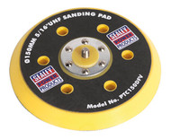 "Sealey PTC150DFV DA Dust-Free Backing Pad for Hook & Loop Discs åø145mm 5/16""UNF"