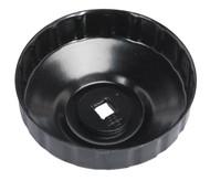 Sealey VS7006.V2-24 Oil Filter Cap Wrench åø96mm x 18 Flutes