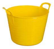 Sealey SFT40Y Heavy-Duty Flexi Tub 40ltr - Yellow