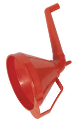 Sealey F16 Funnel with Fixed Offset Spout & Filter Medium åø160mm