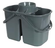 Sealey BM07 Mop Bucket 15ltr - 2 Compartment