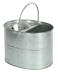 Sealey BM08 Mop Bucket 13ltr - Galvanized