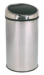 Sealey BM72 Touch Bin 50ltr Stainless Steel