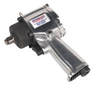 "Sealey SA203 Air Impact Wrench 1/2""Sq Drive Compact Twin Hammer"
