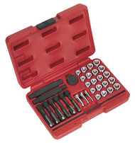 Sealey VS311 Glow Plug Thread Repair Set 33pc