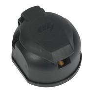 Sealey TB52 Towing Socket 13-Pin Euro Plastic 12V