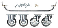 Sealey API725KIT Industrial Handle & Wheel Kit for 725mm Cabinets