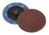 Sealey PTCQC5080 Quick Change Sanding Disc åø50mm 80Grit Pack of 10