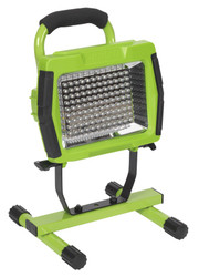 Sealey LED108C Rechargeable Portable Floodlight 108 LED Lithium-ion - Green