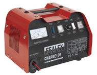 Sealey CHARGE106 Battery Charger 8Amp 12/24V 230V